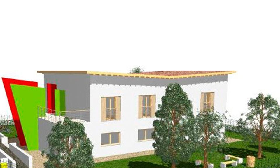 Progetto di una casa famiglia for Progettazione di una casa
